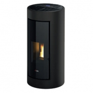 Stufa a pellet air - Shell3 PS 9,1kW Metallo antracite